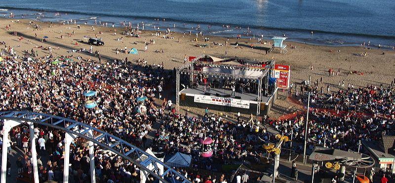 Santa Cruz Boardwalk Concerts Free On The Beach