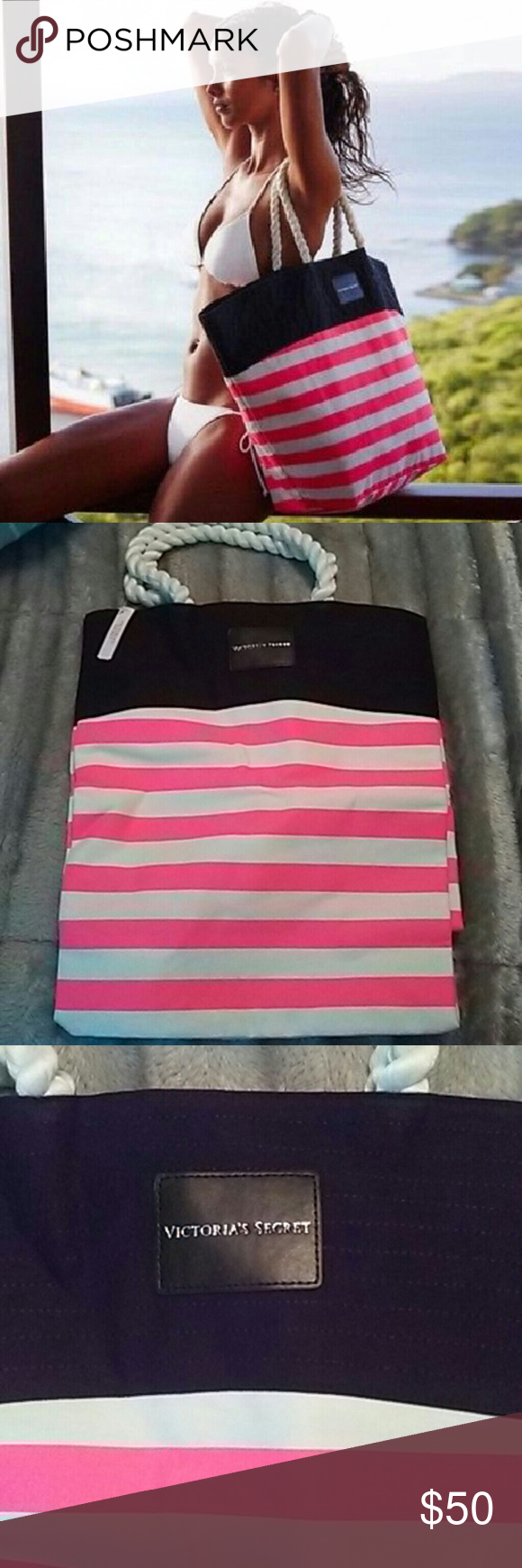 Victoria's Secret bag NWT Brand new Victoria secret bag. Super cute! Victoria's Secret Bags