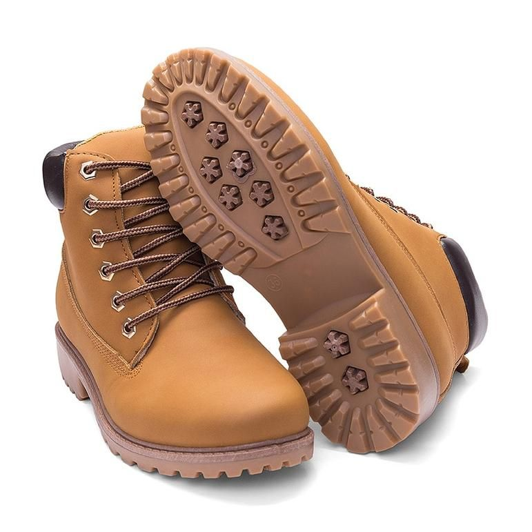 WUIWUIYU Toddlers Little Boys Girls Zip Up Lace-Up Short Ankle Boots Combat Western Booties