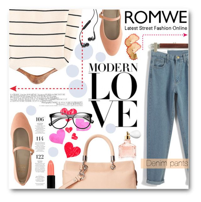 """""""Modern Love"""" by tasnime-ben ❤ liked on Polyvore featuring American Apparel, Une, Marc by Marc Jacobs, Martha Stewart, Bristols6, ZeroUV, Guerlain, Skullcandy, modern and vintage"""