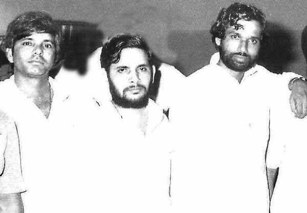 1970s Lalu Yadav With Friends Sharad Yadav And Ram Vilas Paswan Famous Slogans Indian History History