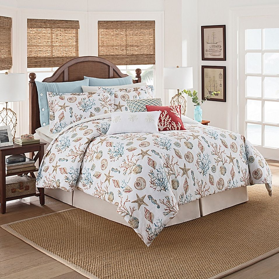 Coastal Life Madaket California King Comforter Set Multi