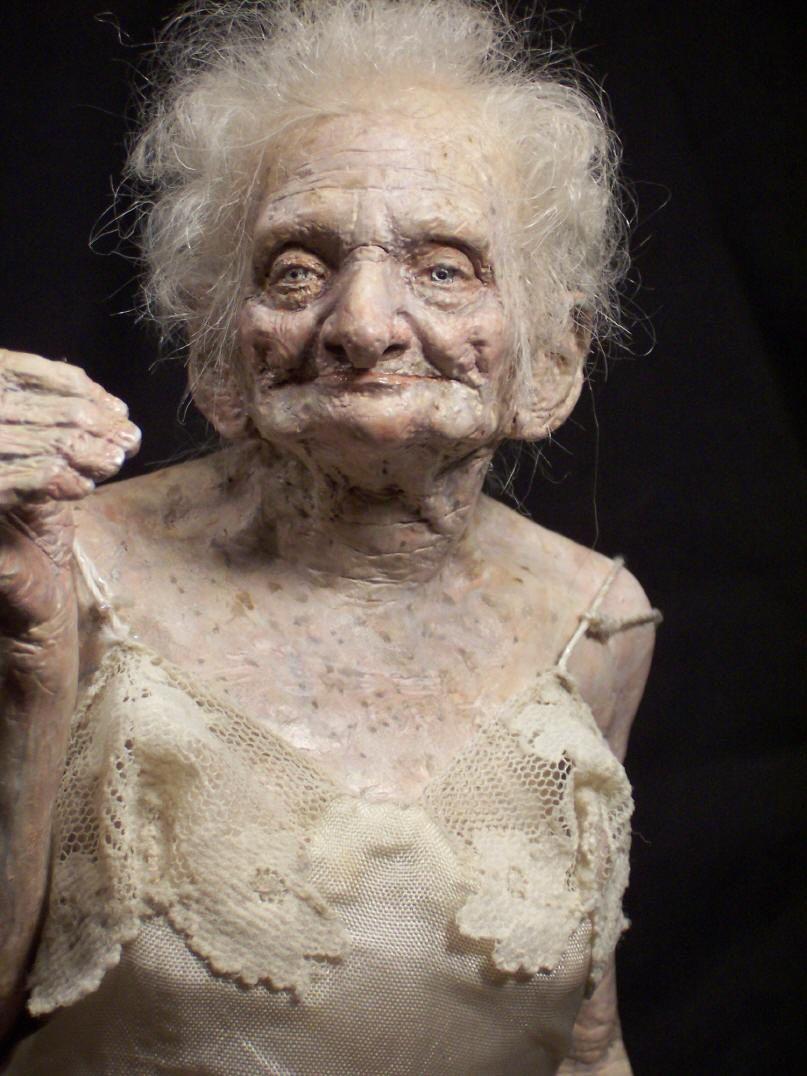 showing their grannies bodies Amateur wrinkled