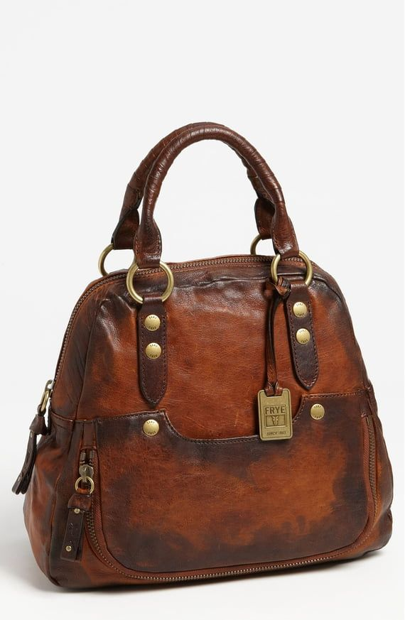 Deleite by SHARO Womens Large Dotted Tote Bag Brown