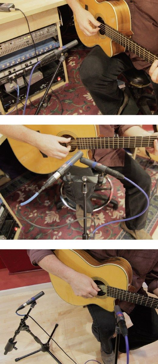 How To Place Your Microphones When Recording Acoustic Guitars By Doug Young There Are Many Types Of Microphones But The Most Acoustic Guitar Acoustic Records