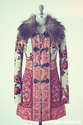 Russian coat by Anthropologie