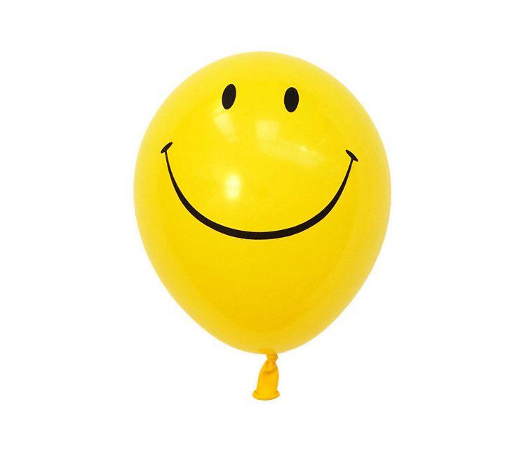 Globos Cara Sonriente Bolsa 8 U Cara Sonriente Globos Globos Amarillos