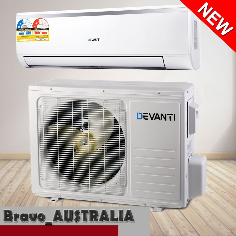 3.3kw Reverse Cycle Air Conditioner Split System Cooler