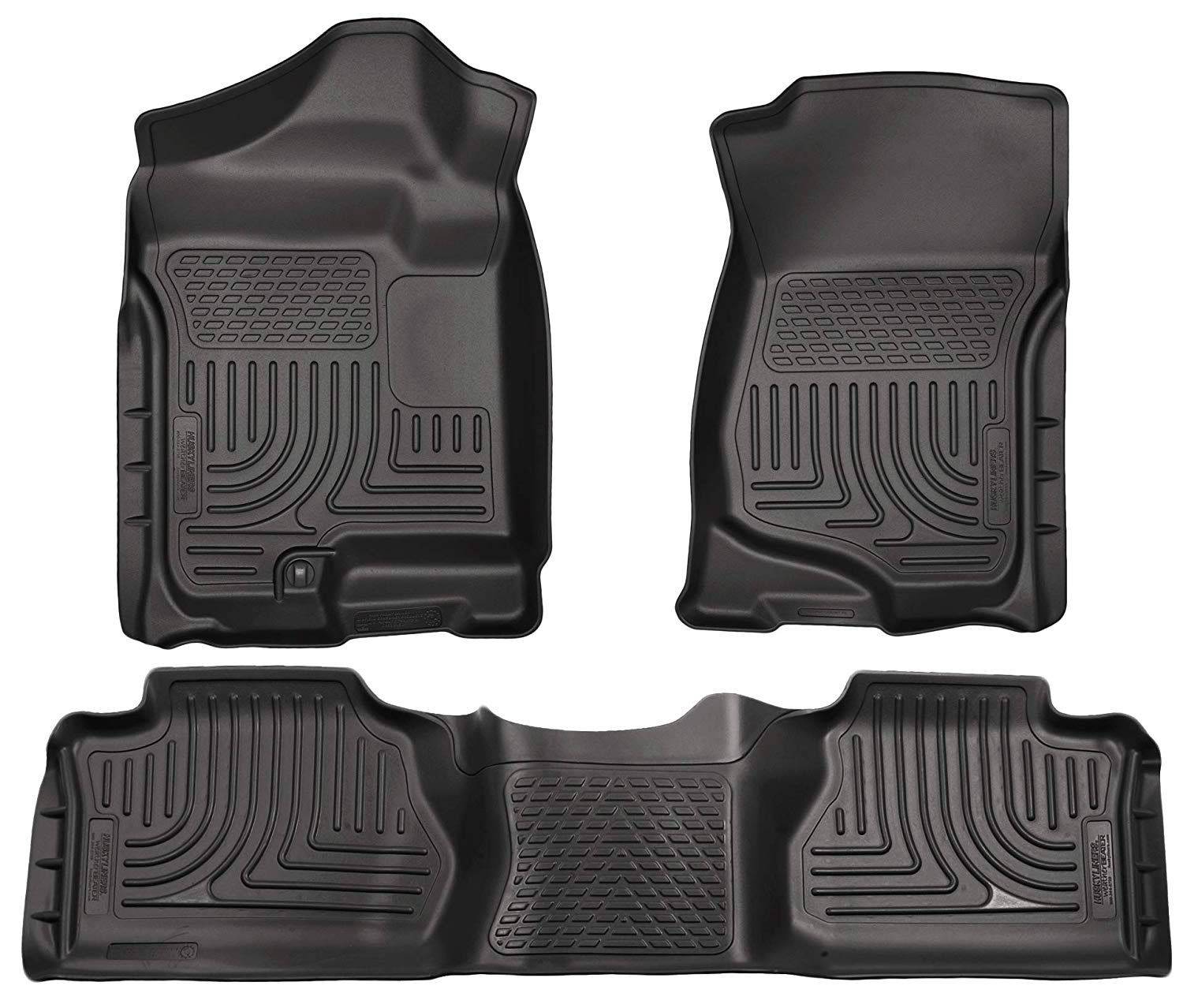 Husky Liners Frontand2nd Seat Floor Liners Fits 07 13 Silverado Sierra Extended Click On The Image For Additiona In 2020 Floor Liners Gmc Sierra Gmc Sierra Crew Cab