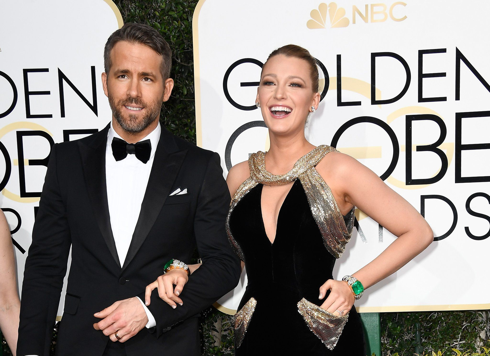 Ryan Reynolds and Blake Lively Ryan reynolds, Golden