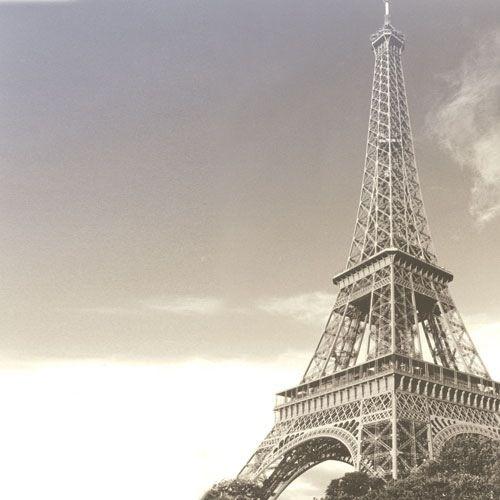 Eiffel Tower - 12x12 Scrapbooking Paper