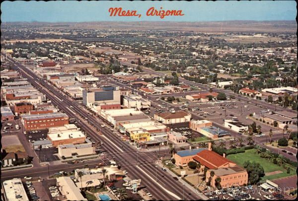 Post Card Of Mesa Arizona History Arizona Places To Travel