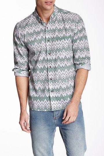 Vanishing Elephant Classic Poplin Shirt