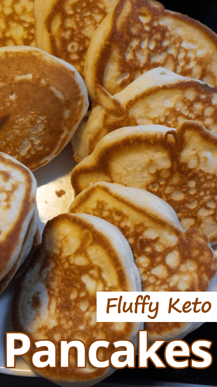 These fluffy, tasty pancakes are super easy. Serve with plenty of butter and your favorite sugar-free syrup. Fluffy Keto Pancakes - You must try this