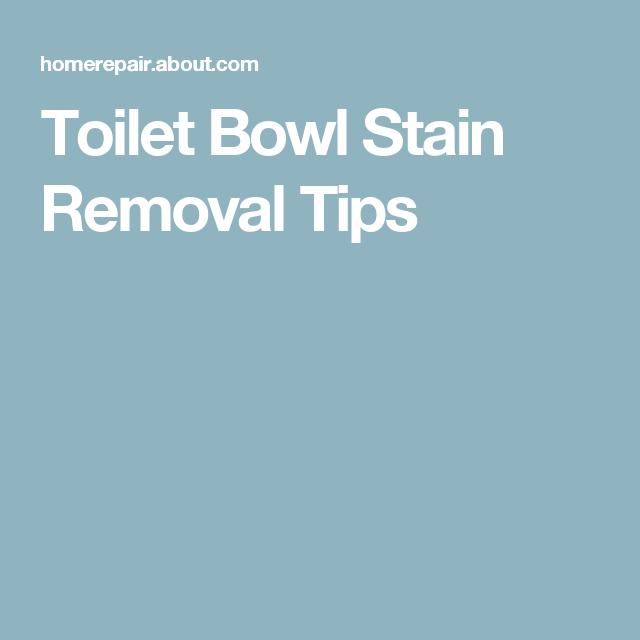 Cool Toilet Bowl Stain Removal Tip Toilet Bowl Toilet Bowl