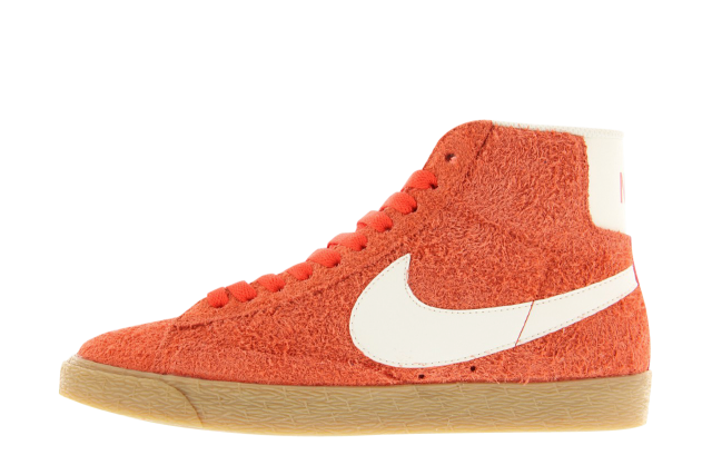 "Nike SB Blazer Mid Suede Vintage Red & Gum"""