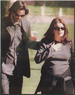 Keanu And Deceased G F Jennifer Syme Visiting Their Stillborn