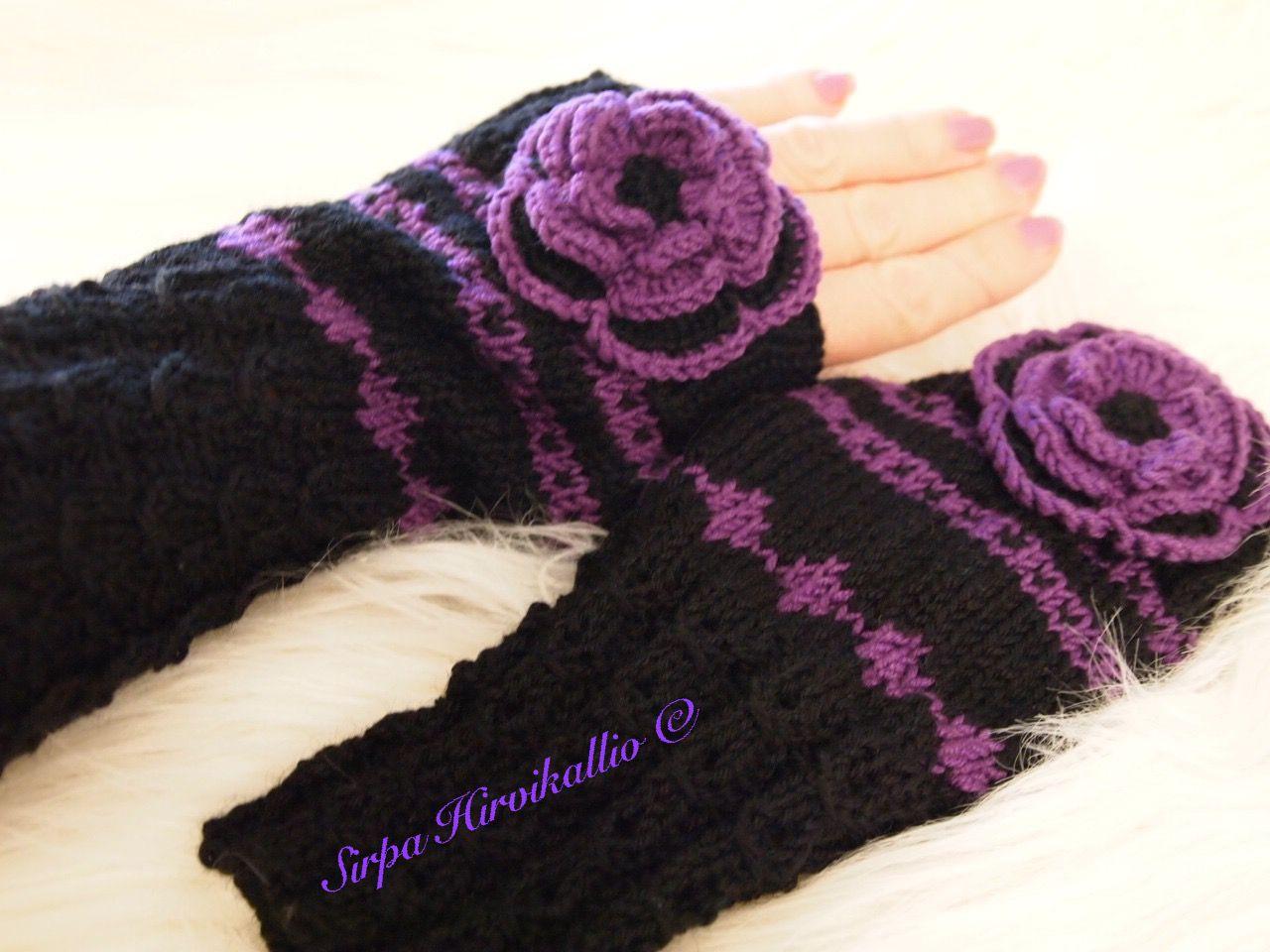 Musta/violetit kämmekkäät
