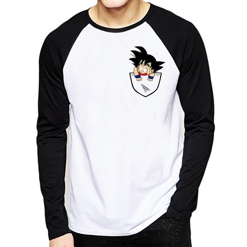85fd49e0 Dragon Ball T-shirt Long Sleeve Men Winter Dragon Ball Z Super Son Goku  Slim Fit Cosplay 3D T Shirts Vegeta Tshirt Homme Price: 14.40 & FREE  Shipping #dbz ...
