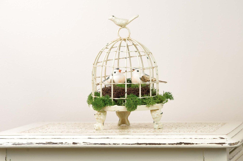 Wedding Cake Topper - Birdcage - Love Birds Wedding   Wedding cake ...