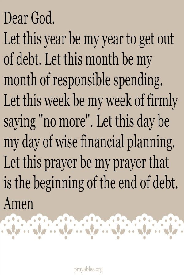 Pin by Kimberly M on Affirmations | Prayer for finances, Financial