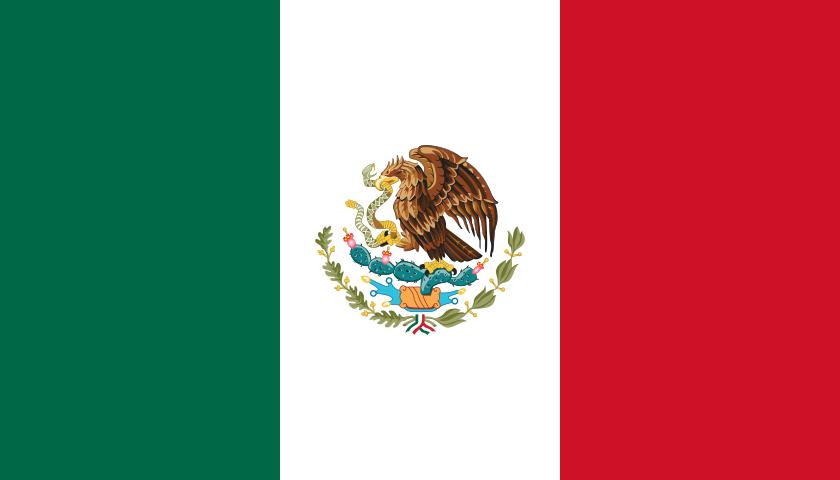 Flag Of Mexico Galeria De Bandeiras Nacionais Wikipedia A Enciclopedia Livre Mexico Flag Mexican Flags National Flag