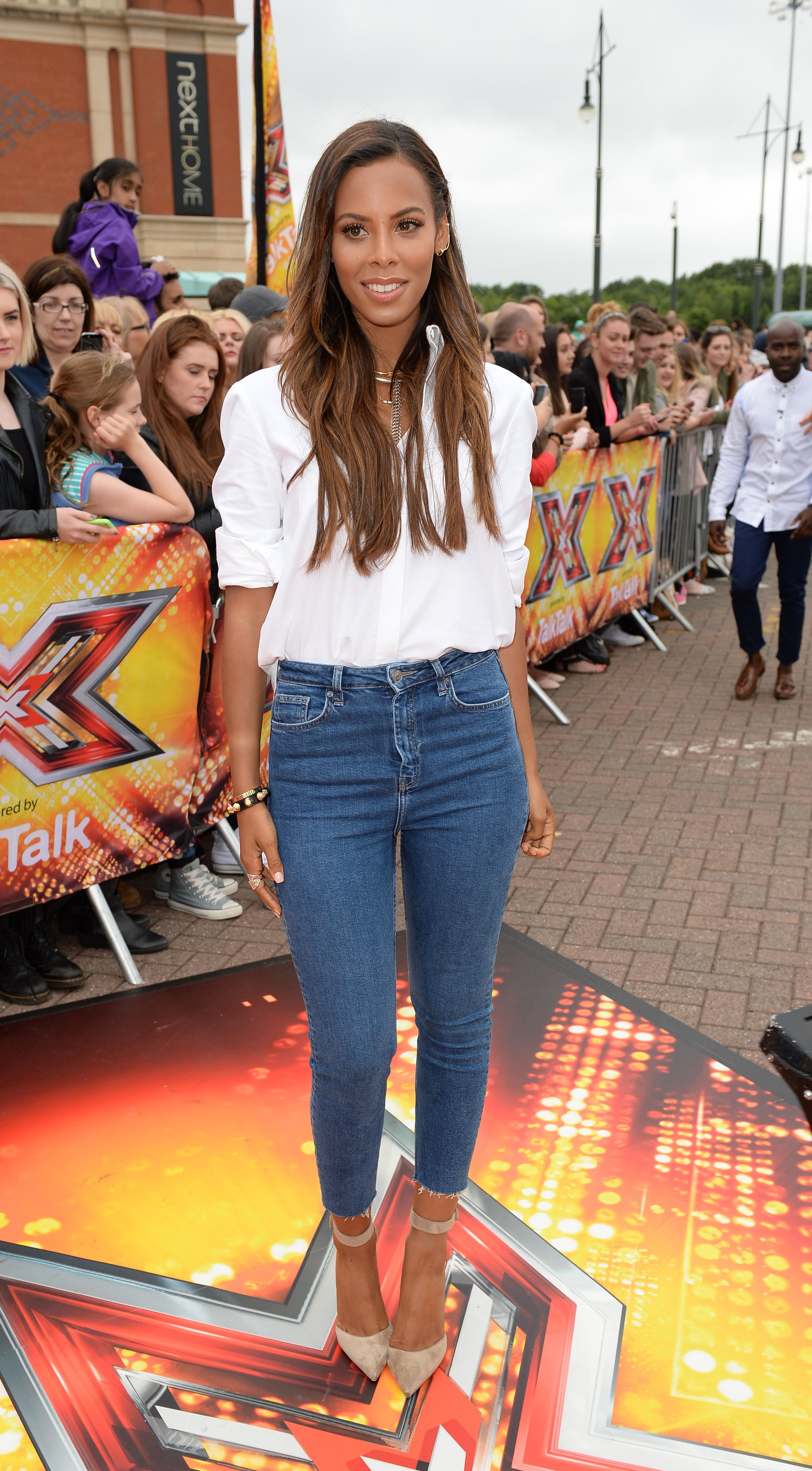Rochelle Humes skinny jeans size 14