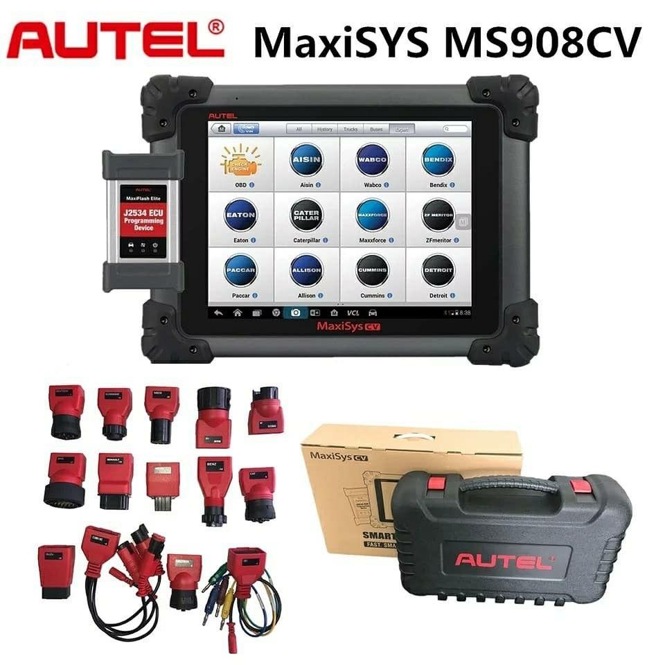 Autel Maxisys MS908CV 908 CV Diesel Truck Scanner Heavy Duty