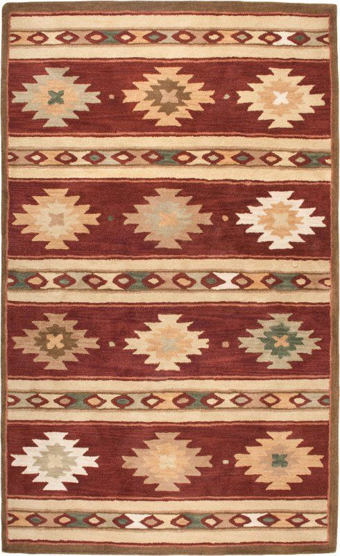 SOUTHWEST 2012 - Hand Tufted Wool Rugs from Rizzy