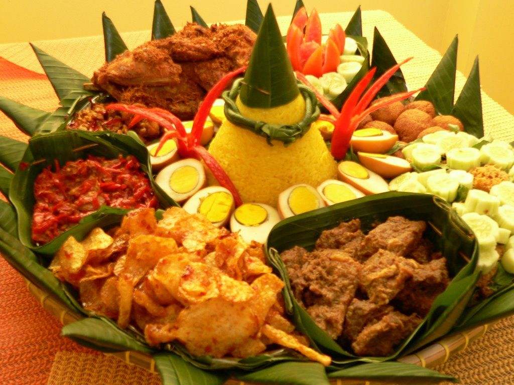 Catering Rantangan Harian Surabaya Makanan, Nasi