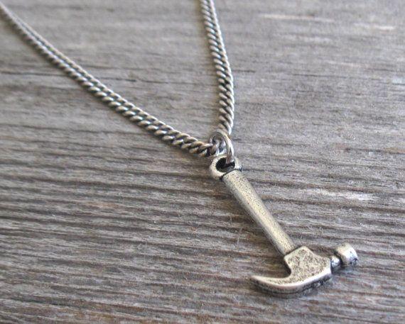 99490497b87a Collar de plata joyería para hombre collares para por Galismens ...
