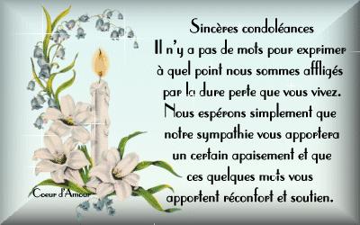 texte pour carte de condoléances Épinglé sur Belles citations