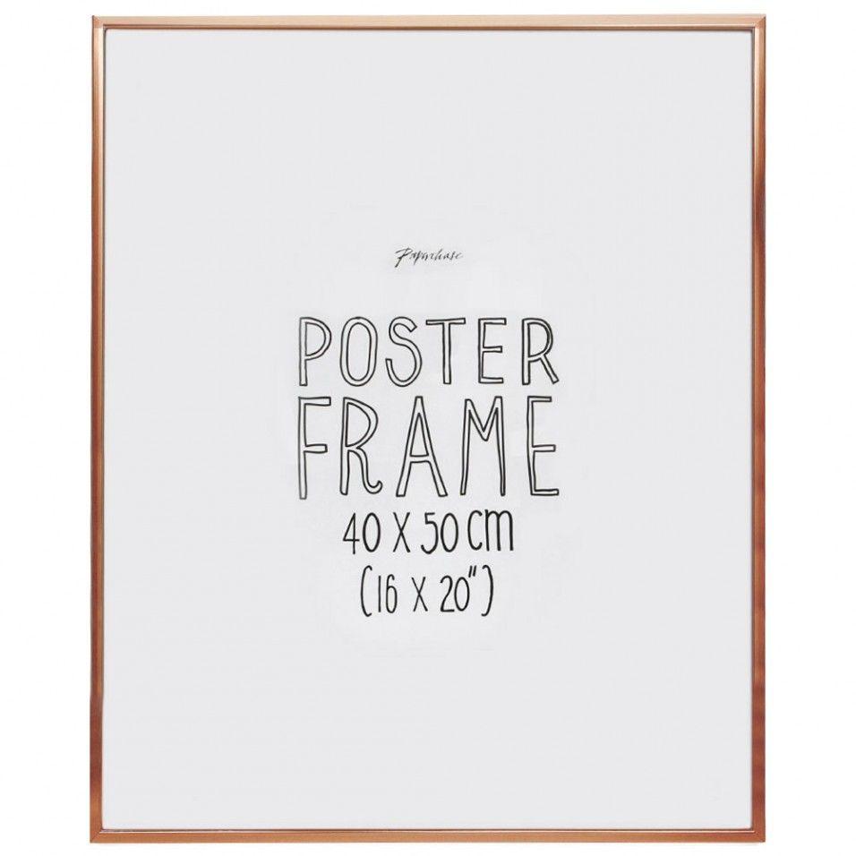 Aluminium copper poster frame 16x20 | Decorating | Pinterest ...