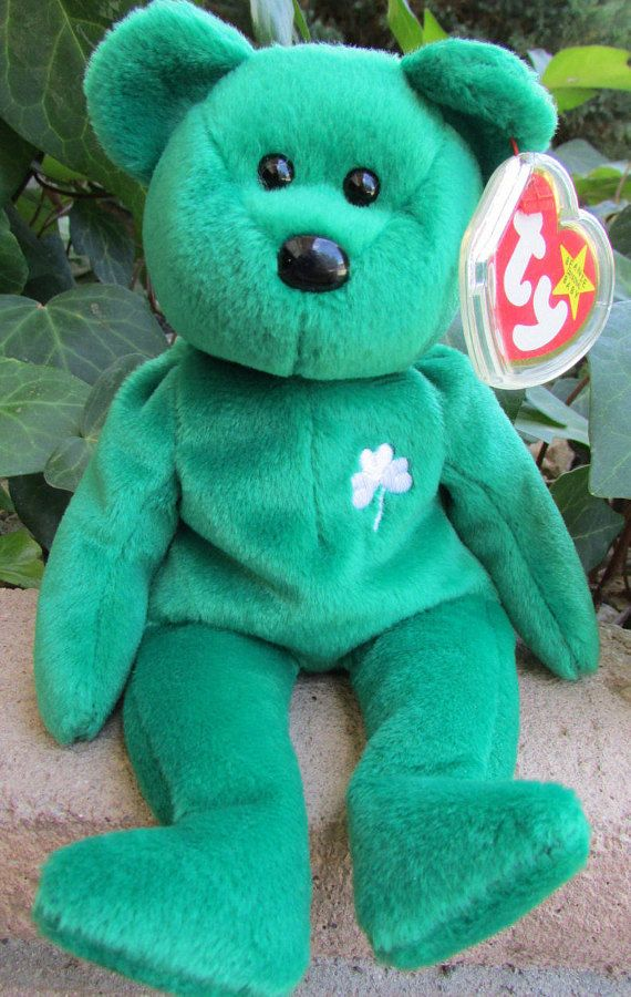 b24f4cabfd4 Dublin and Erin Retired TY Beanie Babies W  Both Tags and Tag ...