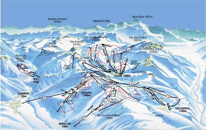 Flaine Piste Map .::. find it, ski it, share it | 9. Make it, NOT ...