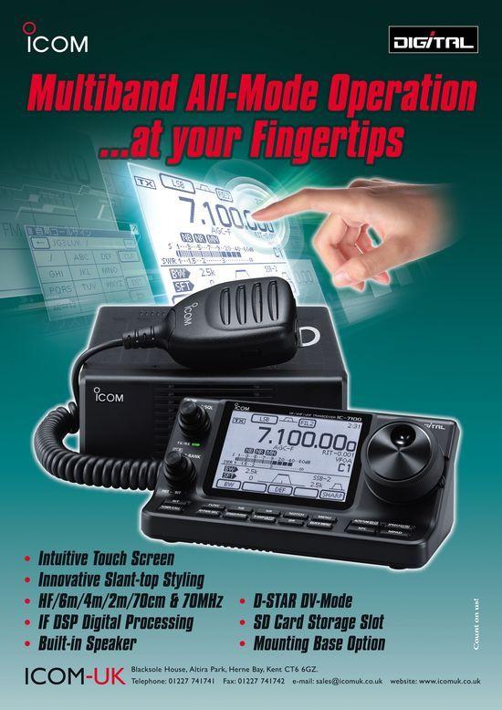 icon- ic 7100 | Amateur Radio | Ham radio license, Ham radio, Ham