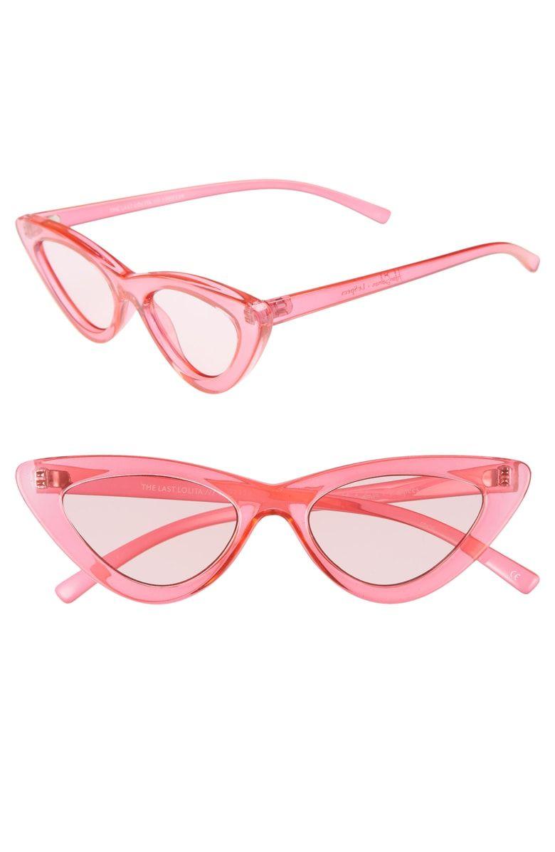 d130c56e4c Free shipping and returns on Le Specs x Adam Selman Last Lolita 49mm Cat  Eye Sunglasses at Nordstrom.com. Sleek