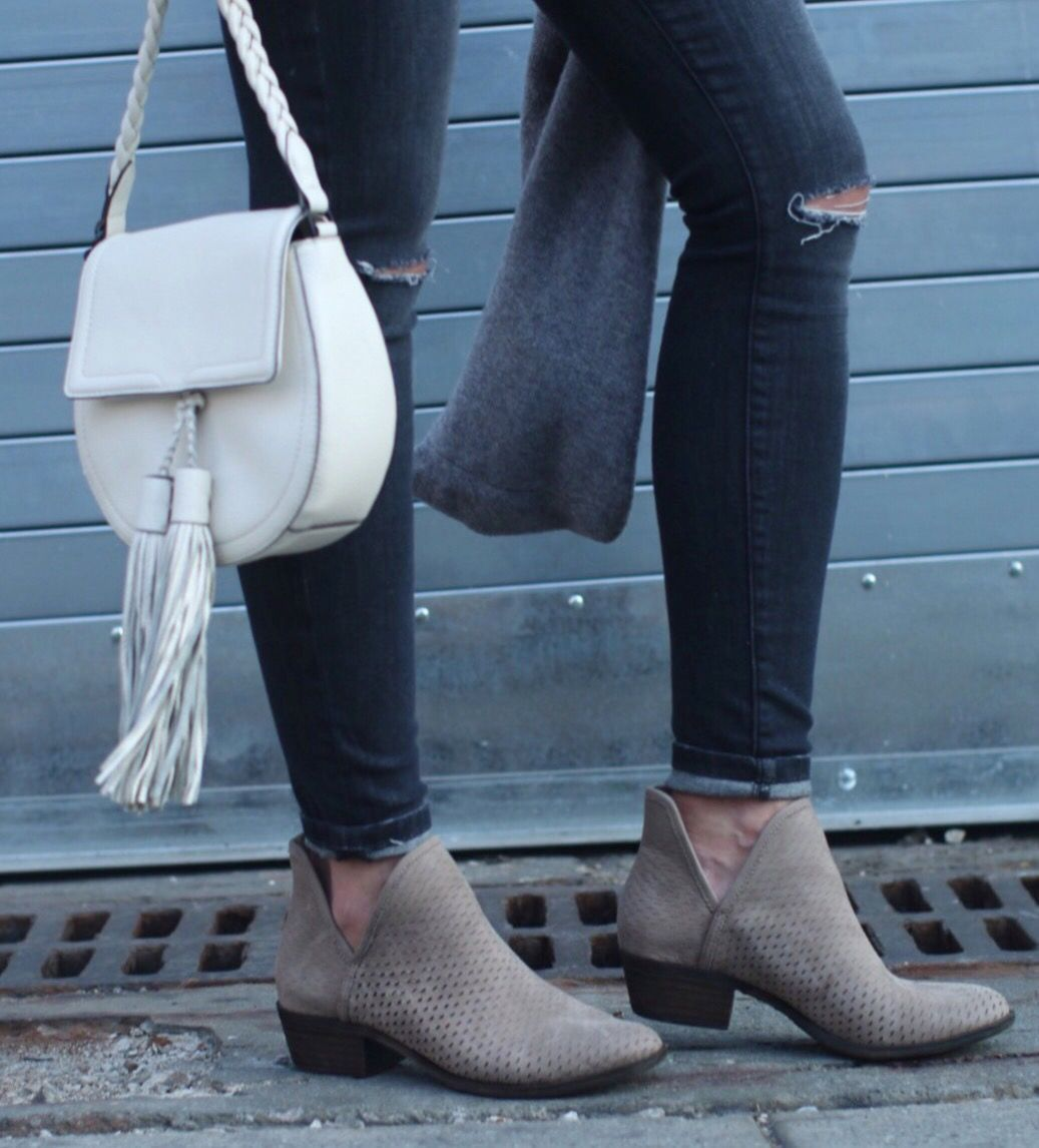 Bashina' Perforated Bootie Lucky brand