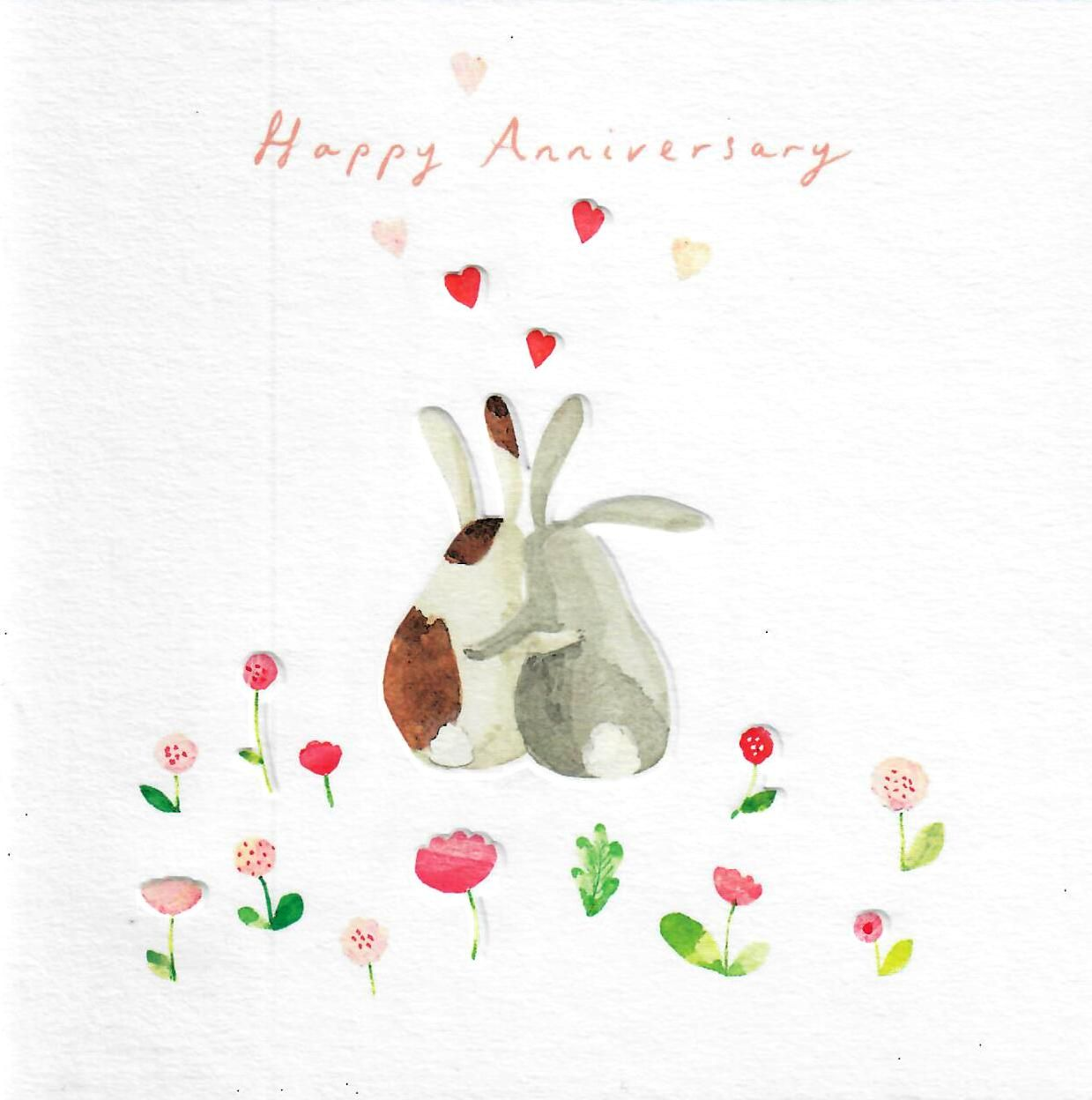 woodmansterne perfect pair happy anniversary greeting card
