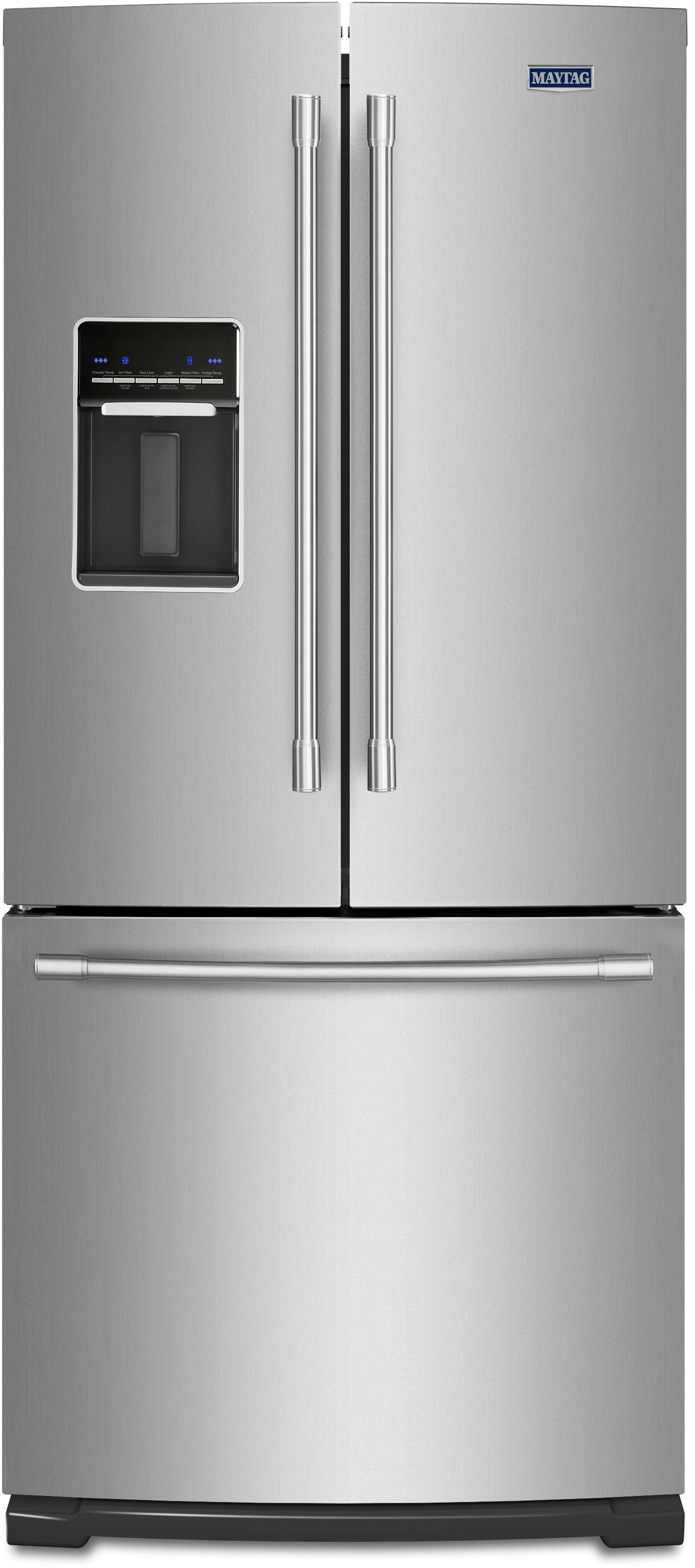1614 Maytag Mfw2055frz 30 Inch French Door Refrigerator With Wide