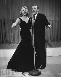 Image result for rosemary clooney black dress from white christmas movie
