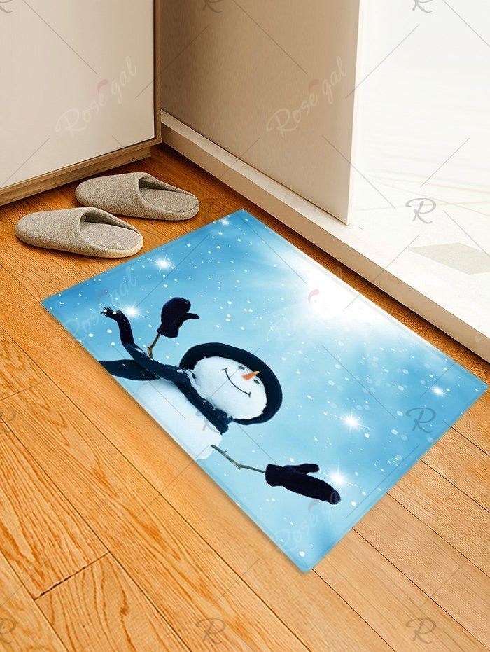 Photo of Sunlight Christmas Snowman Pattern Water Absorption Area Rug , , , , , | jewelry…