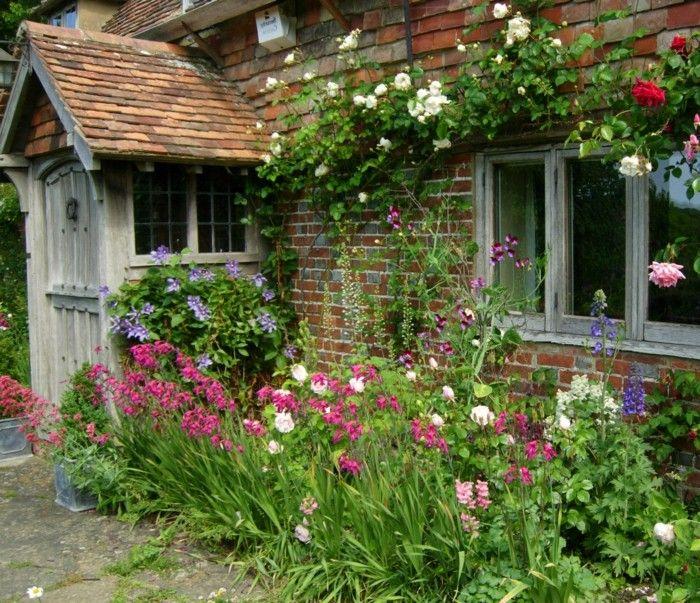 Bauerngarten Naturnahe Ist Jetzt Angesagt Englische Landhausgarten Cottage Garten Bauerngarten