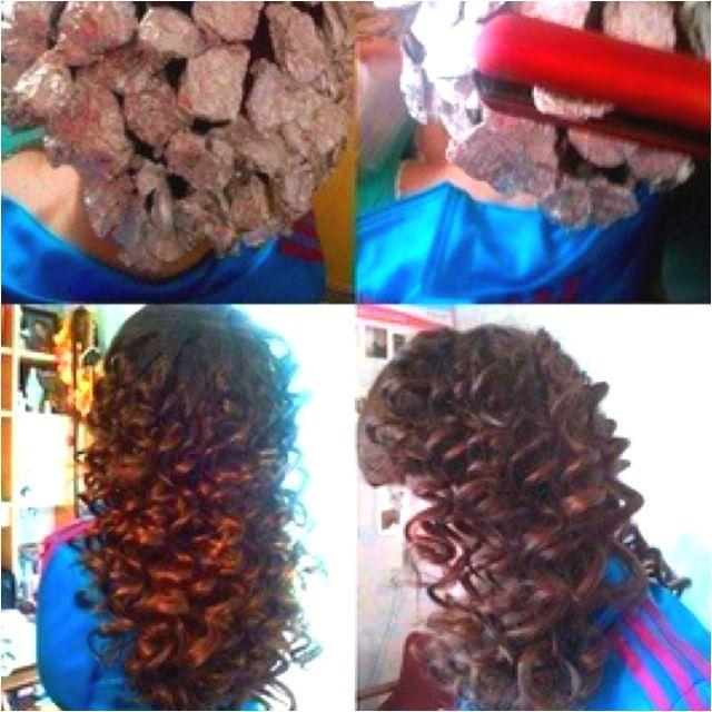 The 25 Best Foil Curls Ideas On Pinterest Curling Hair