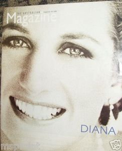 Princess Diana: THE AUSTRALIA MAGAZINE 1998 RARE ISSUE!
