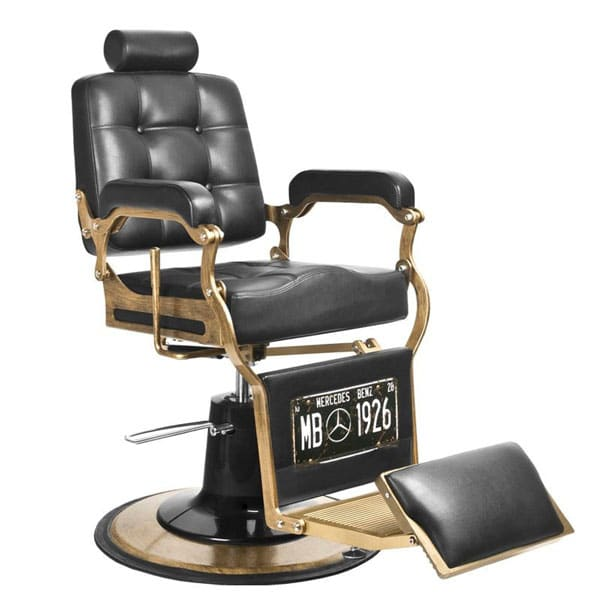 Mercedes Barber Chair The Hair And Beauty Company Thbcireland Modernsalon Salon Barber Schwarz Farbe Retro Schwarz