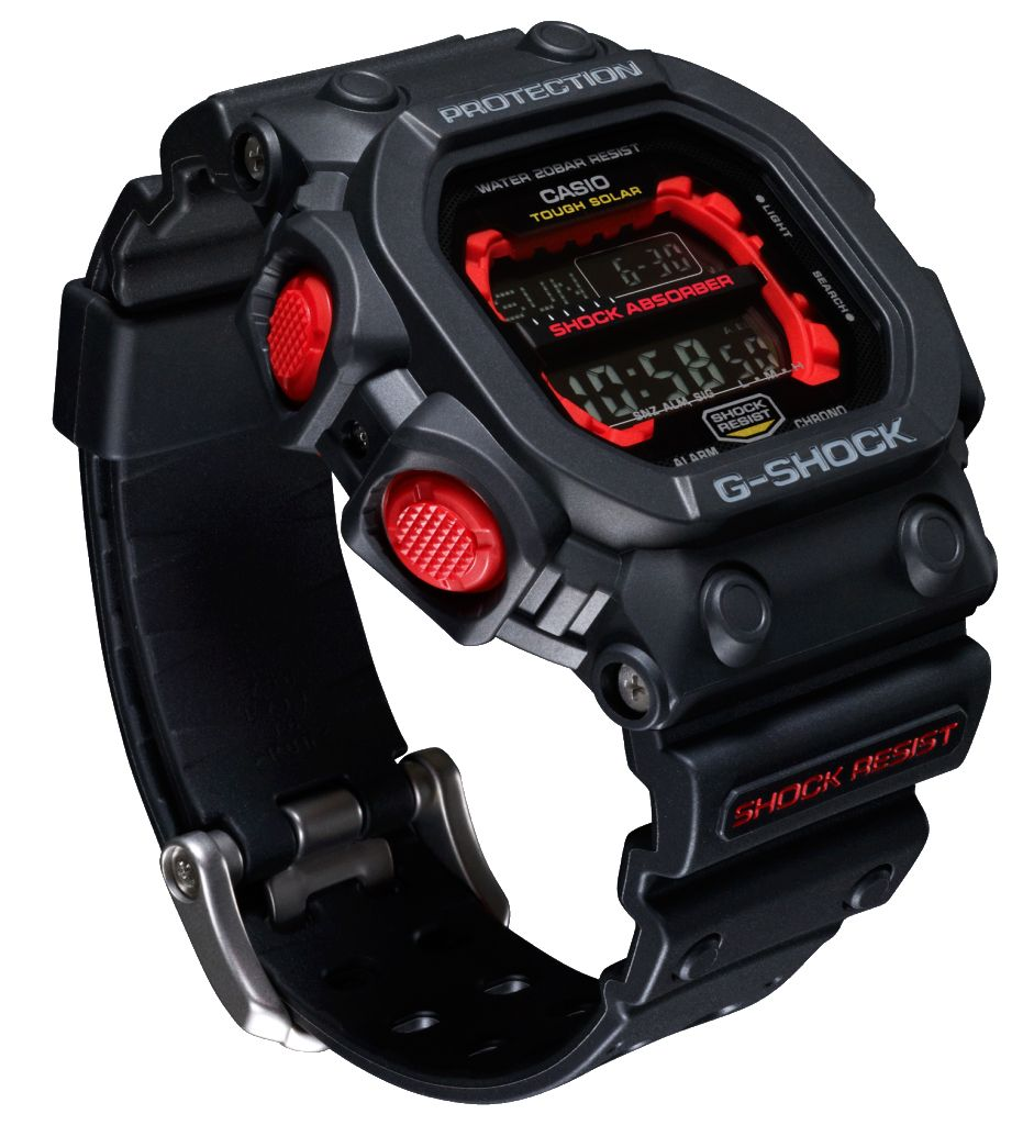 Casio G-Shock GX-56 (Negre-Vermell Black-Red)  512795a8d5