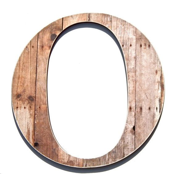 Rustic Letter O Wood Grain Print Chic Wall By Compulsivecollection 34 00 Rustic Letters Wood Grain Wood