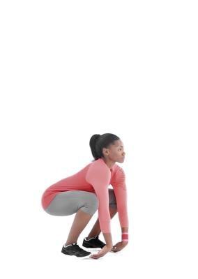 Sumo Squat to Stand : Quadricipiti, Glutei, Muscolo grande dorsale, Fianchi - MSN Salute & Benessere
