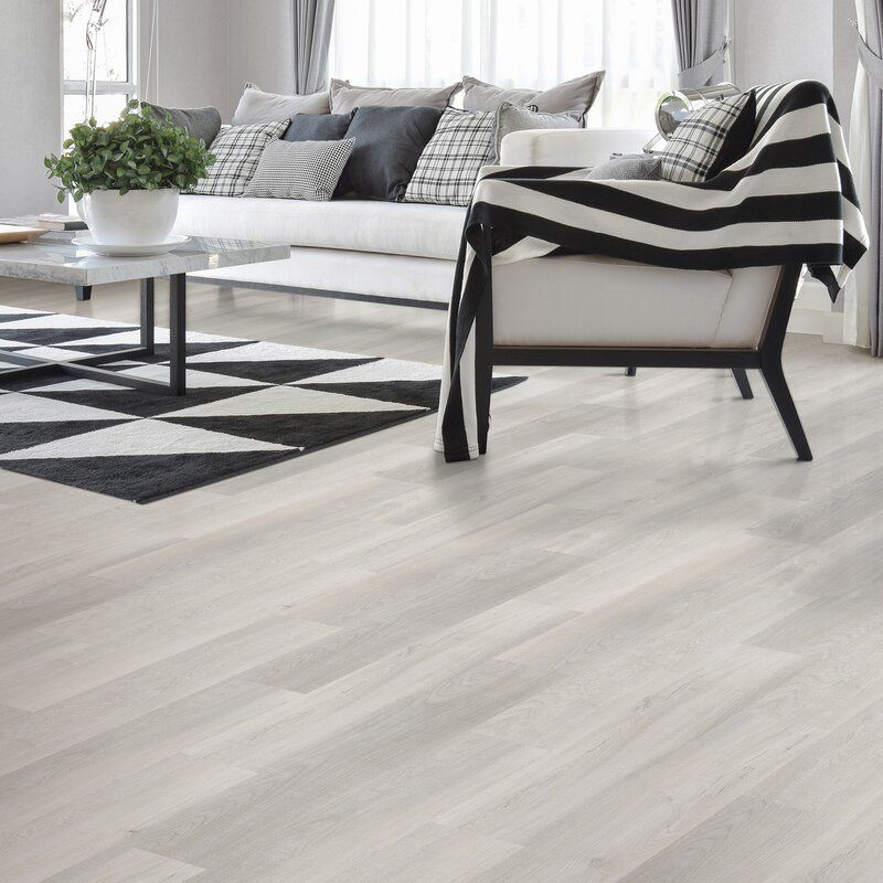 "Allure GripStrip 6"" x 36"" x 3.8mm Luxury Vinyl Plank in"